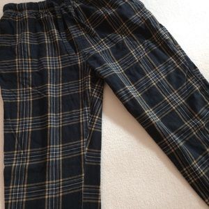 OLD NAVY FLANNEL PAJAMA BOTTOMS MENS SMALL